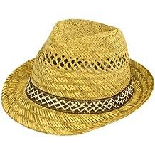 100% Pajita Trilby Unisex Summer Gorro de 5a9c388232d