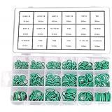 420x Junta tórica Surtido verde resistente al anillo Junta indicadas para líneas de aire/Aire Acondicionado R134A (en caja/Cajas surtidas)