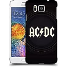 Official AC/DC ACDC Speaker Logo Hard Back Case for Samsung Galaxy Alpha
