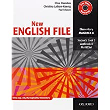 New English File: Elementary: MultiPACK B: Six-level general English course for adults: Multipack B Elementary level by Clive Oxenden (26-Jan-2006) Paperback