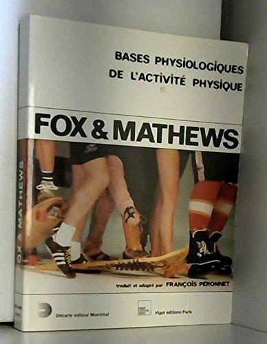 Bases physiologiques de l'activité physique