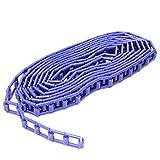 BeMatik - Cadena de plástico Azul para enrollador de Fondos de Estudio fotográficos