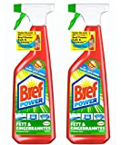 Bref Power Fettlöser-Spray, 2er Pack (2 x 750 ml)