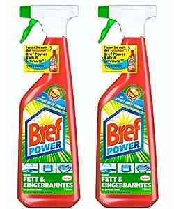 bref power fettl ser spray 2er pack 2 x 750 ml amazon. Black Bedroom Furniture Sets. Home Design Ideas