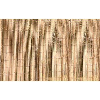 Slatted Bamboo Screening ( 5m Wide x 2m High ) - Natural Garden