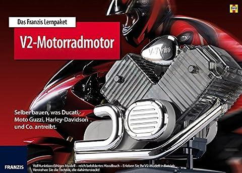 Das Franzis Lernpaket Motorrad-V2-Motor: Selber bauen, was Harley-Davidson, Moto Guzzi, Ducati und Co. (Bausatz Harley Davidson)