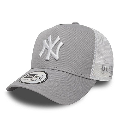 49b7fb97 New Era Men's 9Forty AF TRUCKER New York Yankees Cap, Grey, ...