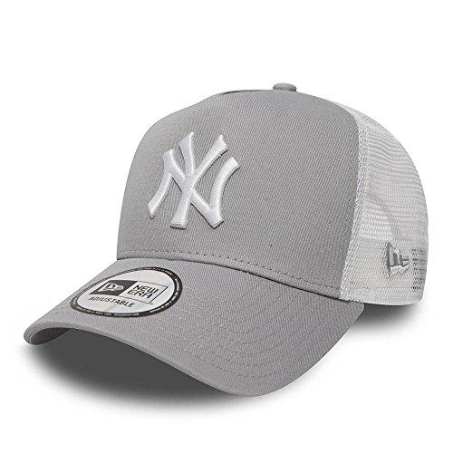 New Era Herren 9Forty AF Trucker New York Yankees Kappe, Grau, OSFA