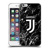 Head Case Designs Ufficiale Juventus Football Club Nero 2017/18 Marmoreo Cover in Morbido Gel Compatibile con iPhone 6 Plus/iPhone 6s Plus