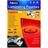 Fellowes Glossy Pouches 54 x 86mm 50 pcs. 125 mµ - Plastificador