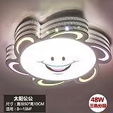 KANG@ La Creatividad Artística Iluminación Colgantecolgante Reposera Para Niños Abuelo Diámetro 50Cm*48W Segmento Tricolor