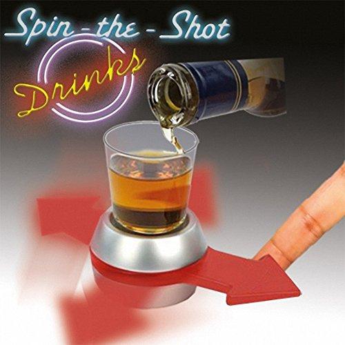 Juego Ruleta chupito gira la flecha Spint the Shot