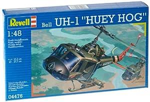 "Revell Modellbausatz 04476 - Bell UH-1 ""Huey Hog"" en escala 1:48"