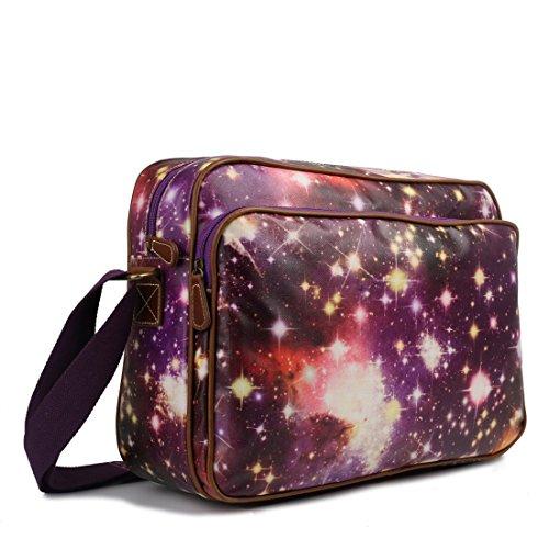 miss-lulu-matt-finish-wachstuch-katze-hund-galaxy-universe-messenger-bag-universe-purple-mehrfarbig-