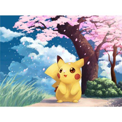 Pikachu-Poster-On-Silk-80cm-x-60cm-32inch-x-24inch-Cartel-de-Seda-14A1C1