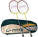 Li-Ning Abdk122 Smash Xp 807 Combo (Li-Ning Abdk122 Badminton Kitbag + Li-Ning 807 Badminton Racquet, Set Of 2) - Cyan Bag