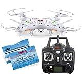 SYMA X5C Neues Modell Quadrocopter Drohne Weiß Kamera Fernbedienung