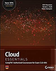 Cloud Essentials: CompTIA Authorized Courseware for Exam CLO-001 by Kalani Kirk Hausman (2013-06-04)
