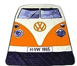 Coperta da picnic con disegno di un camper Volkswagen arancione