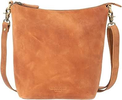 HOLZRICHTER BERLIN Shopper - Damen Vintage Hobo Handtasche & Schultertasche handgefertigt aus Premium-Leder
