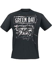 Green Day Radio Noise T-shirt noir