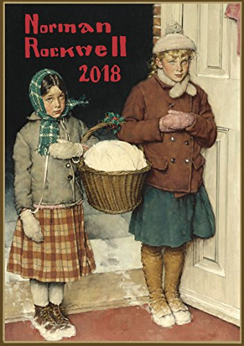 Kalender 2018 [12 seiten 20x30cm] Everyday Life Scenes with Madchens by Norman Rockwell Vintage Zeitschrift Illustration Americana [Calendar] (Americana Vintage)