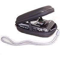 Snug Fit Black Waterproof Camera Case for Panasonic Lumix DMC-TZ80 TZ70 TZ60 TZ57 TZ55 TZ40, SZ10, Canon IXUS 285 275 265 185,180,SX730 SX720 SX620, Sony HX60 HX90 WX500 WX350 W800,Nikon L31,A300 A10