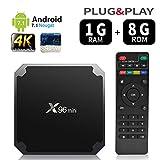 X96 Mini Lecteur multimédia de diffusion en continu Android 7.1/boîte TV 4K avec Amlogic S905W quad-core chipset, 64 Bits 1GB/8GB,WiFi,4K HD,H.265 by puersit