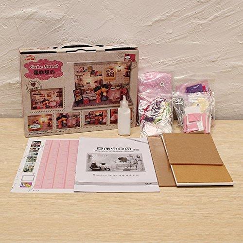 Dollhouse miniature handmade kit set Princess Room (japan import)