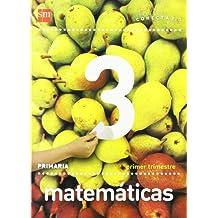 Matemáticas. 3 Primaria. Conecta 2.0. Trimestres - 9788467553888