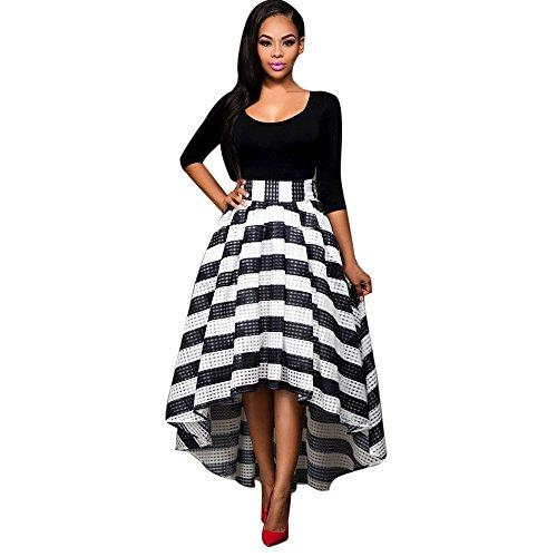 Sasstaids Heißes Kleid, Lange Formale Boho Abschlussball Kleid der Taille Frauen Partei Ballkleid Abend-Hochzeits Kleid Elegantes Kleid Abendkleid -