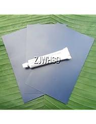 3Pcs Bleu 12x 20cm en PVC Patch + Colle pour gonflable et bateau gonflable Kayak canoë Eau jouet réparation Abbott
