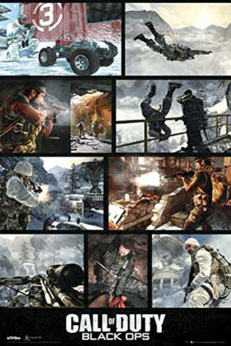 Call Of Duty - Poster - Black Ops, Screenshots + Ü-Poster