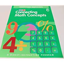 SRA Connecting Math Concepts: Independent Woksheets Blackline Masters, Level C by Siegfried Engelmann (2002-12-23)