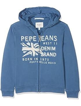 Pepe Jeans Ron Jr, Sudadera para Niños