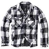 Brandit Lumberjacket Jacke schwarz/weiß L