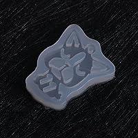 Lamdoo Molde de Silicona de Dibujos Animados para Perro, joyería para moldes de Resina epoxi