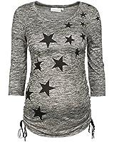 2HEARTS Umstandsshirt Stars Umstandsshirt Schwangerschafts-Shirt