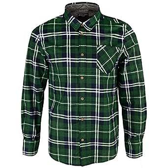 Brave Soul, camicia a quadri JackD di marca, in cotone chambray, da uomo Albert Green Small