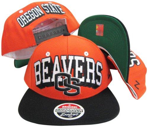 Oregon State Biber verstellbar Snapback Hat/Cap Retro Snapback Hats