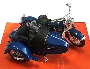 1952 Harley-Davidson FL Hydra Glide with sidecar [Maisto 32420], Blue, 1:18 Die Cast