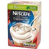 Nescafé Cappuccino Décaféiné 10 X 15G - Paquet de 6