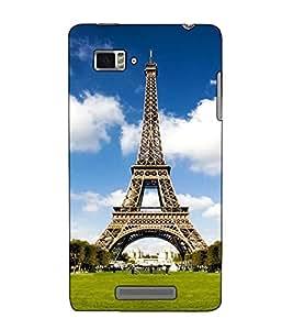 Fuson Designer Back Case Cover for Lenovo Vibe Z K910 (An Eifel Tower Paris)
