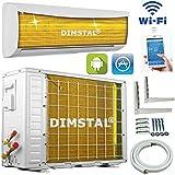 A++/A+ WiFi WLAN Golden-Fin 12000 BTU 3,5 kW Split Klimaanlage INVERTER Klimagerät und Heizung SmartHome