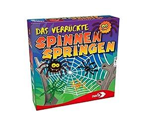 Noris 606011827 Das verrückte Spinnen Springen - Juego de Mesa (Contenido en alemán)