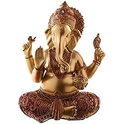 Objet de décoration - Ganesh - Rouge Or