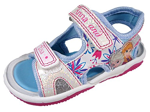 Disney Frozen Blue & White Sports Sandals UK 12 Infant