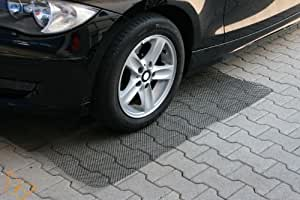 Marderschutz Gitter Marderfurcht Teppich Anti Mardergitter Material PE HD Kunststoff zuschneidbar und Ohne Chemie Umweltschonend