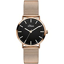 s.Oliver Time Damen-Armbanduhr SO-3330-MQ