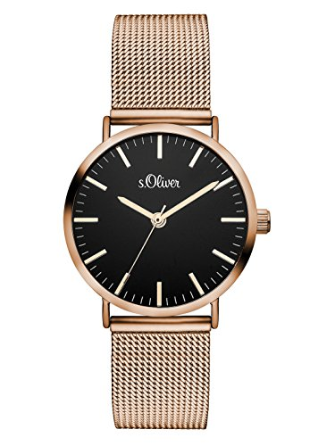 S.Oliver Damen Time Armbanduhr SO-3330-MQ